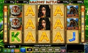 egt 50 Amazons' Battle
