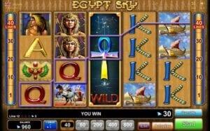 Egypt Sky Egypt Quest EGT Interactive Slot