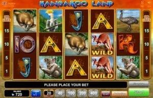 kangaroo land machine a sous egt