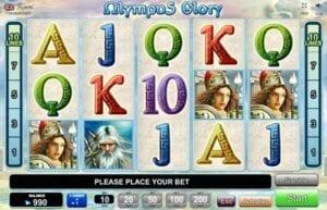 olympus glory machine a sous egt