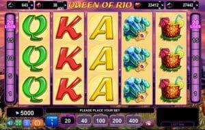 Machine à sous Queen of Rio