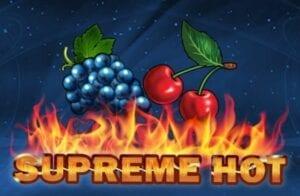 Supreme Hot Slot video EGT Interactive