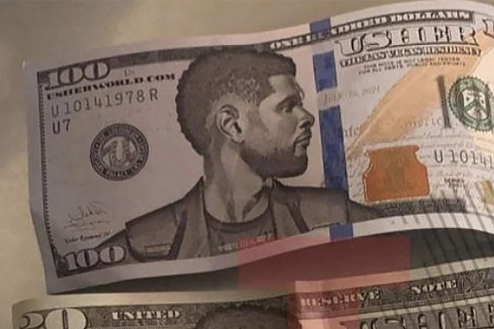 usher faux billets