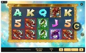 Machine à sous Dazzling Dragons de High 5 Games