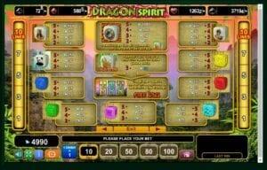 machine à sous Dragon Spirit