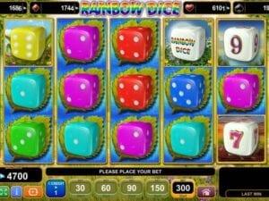 Machine à sous Rainbow Dice EGT Interactive