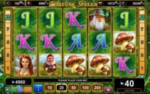fortune spells machine a sous egt