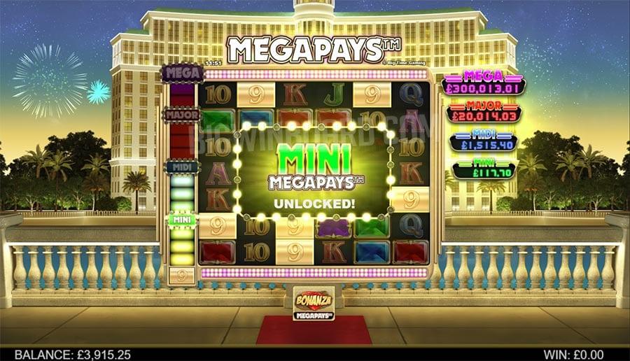 Big Time Gaming megapays