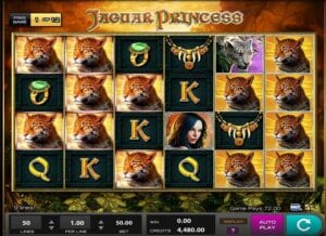 Slot vidéo Jaguar Princess de High 5 Games