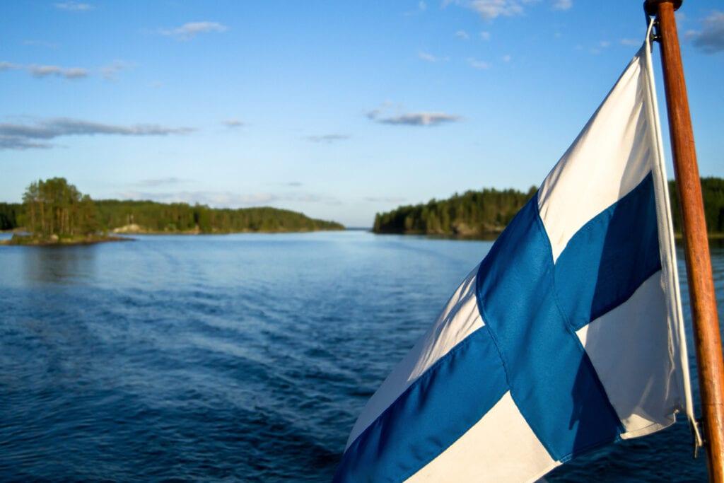 finlande drapeau