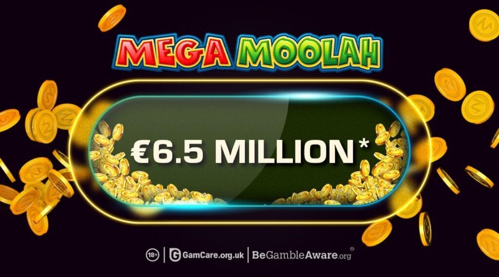 mega moolah 6,5 millions