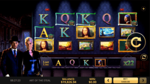 The_Art_of_Steal_High 5_Slot