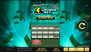 The Green Machine Deluxe Power Bet_slot_high5