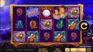 Gypsy 3 Triple Tarot_Slot_high5
