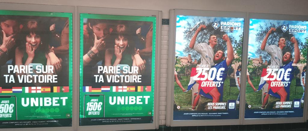 publicité paris sportifs