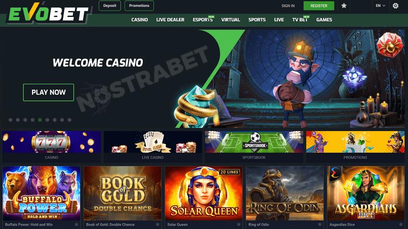 kasino evobet