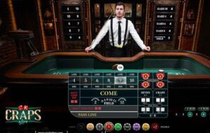 First Person Craps evolution gaming 1