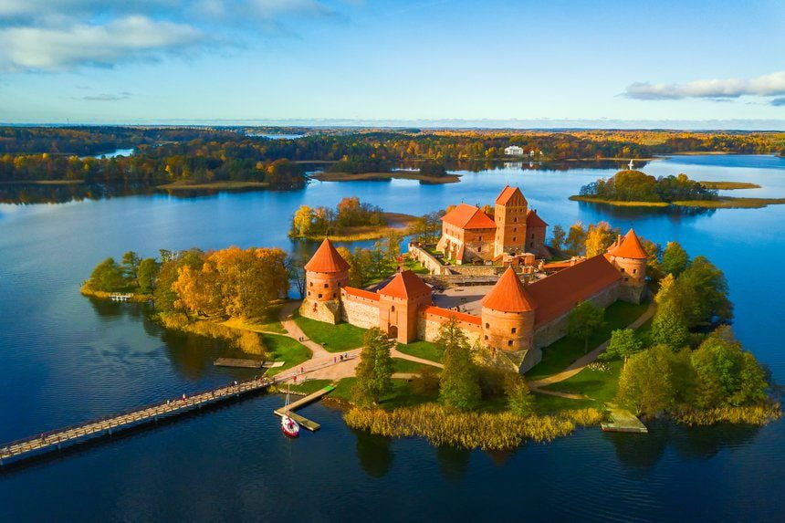 lituanie château