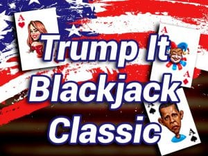 logo trump it blackjack